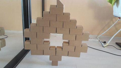 Архиструктор - набор эко-кирпичиков для моделирования