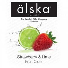 Сидр ALSKA Strawberry & lime fruit
