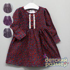 Платье (оборки, пуговки)