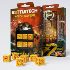 Battletech House Davion D6 Dice set (6)