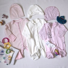 Набор одежды для новорожденных в роддом, девочка, вид 2
