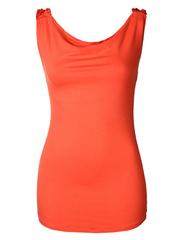 009689-1 туника женская, оранжевая