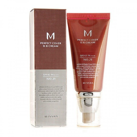 Тональный крем MISSHA M Perfect Cover B.B Cream SPF42/PA+++ №23 50 мл
