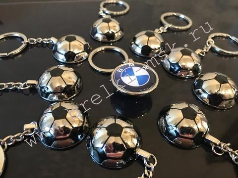Брелок односторонний «Футбольный Мяч»
