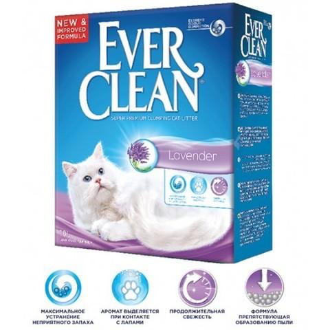 Наполнитель Ever Clean Lavander 10 л