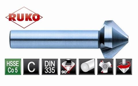 Зенковка ц/х 90° 10,4мм (DIN74BF M5) DIN335C 3z HSSE-Co5 Ruko 102114E