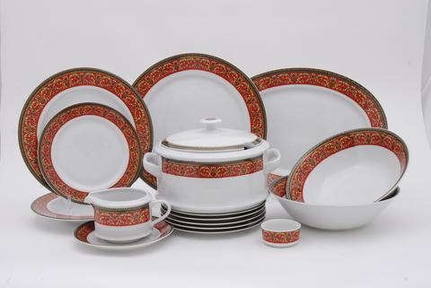 Сервиз столовый 25 предметов Сабина Leander