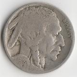F265, 1918, США, 5 центов S
