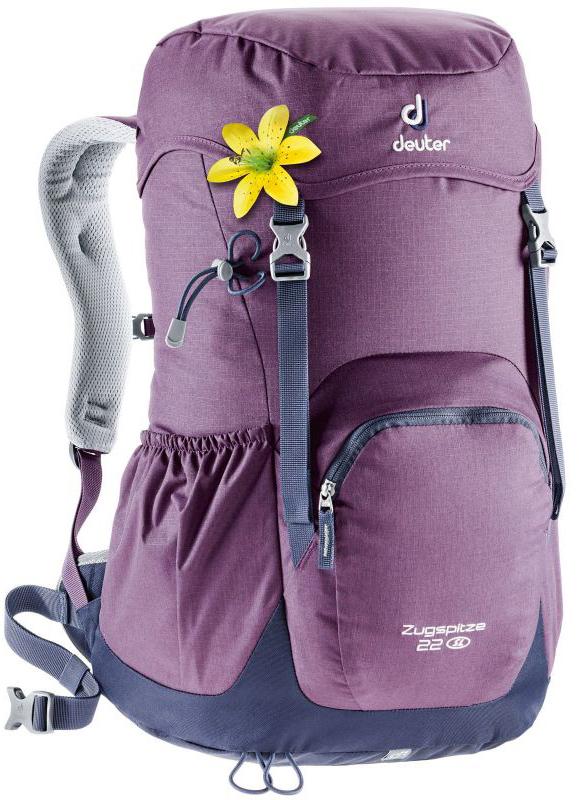 Туристические рюкзаки легкие Рюкзак женский Deuter Zugspitze 22 SL deuter-zugspitze-24-sl-plum-navy.jpg