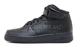 Кроссовки Мужские Nike Air Force Mid Black