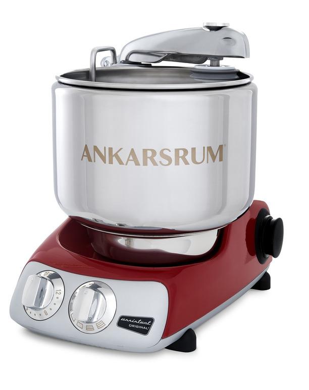 Тестомес комбайн Ankarsrum AKM6230R Assistent красный (базовый комплект)