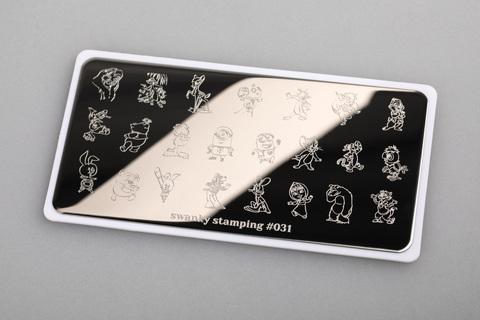 Пластина Swanky Stamping 031
