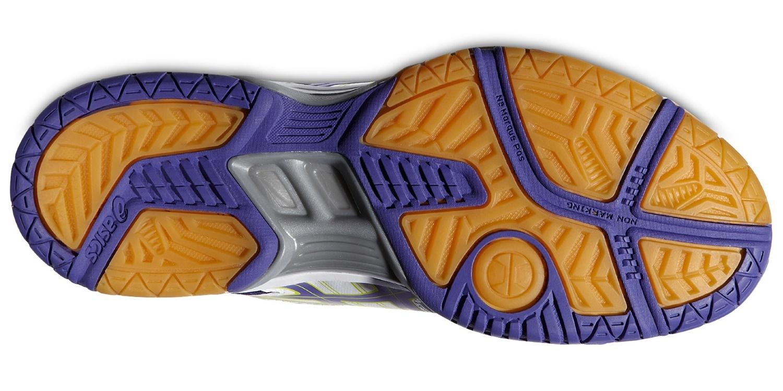 Женские волейбольные кроссовки Asics Gel-Rocket 7 фиолетовые фото