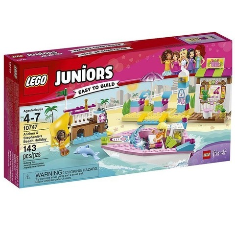 LEGO Juniors: День на пляже с Андреа и Стефани 10747 — Andrea and Stephanie's Beach Holiday