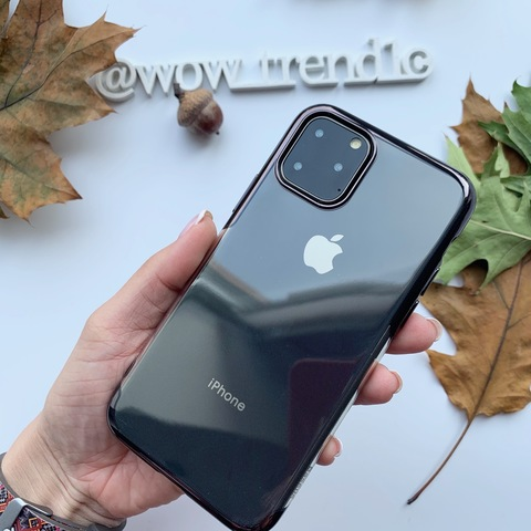 Чехол iPhone 11 Baseus Shining Case /black/