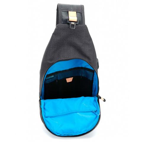 Рюкзак на одно плечо Piquadro Blade CA4536BL/N, black, фото 5