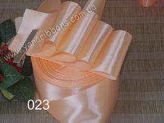 Лента атласная шириной 6мм персиковая - 023