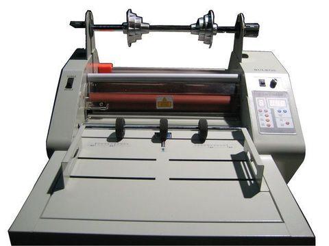 Рулонный ламинатор Bulros FM480 Automatic (Ширина 480 мм, 4 силиконовых вала с внутренним нагревом, холодная и горячая ламинация, реверс, автоподатчик)