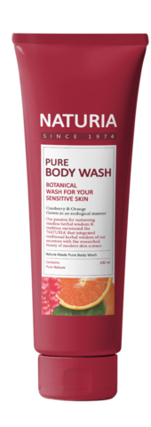 Гель для душа Pure Body Wash (Cranberry & Orange) от Naturia