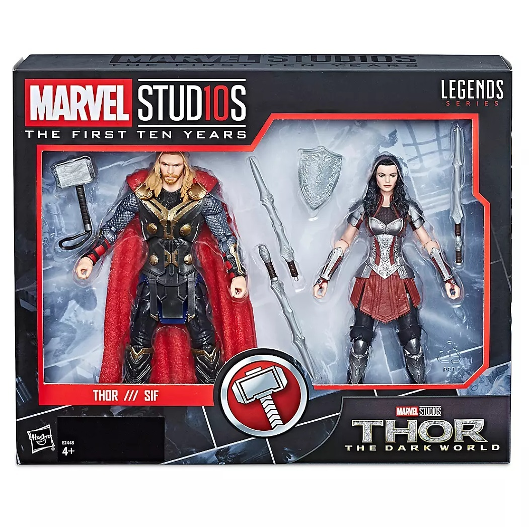 Набор фигурок Тор и Сиф Marvel Legends