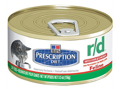 Hill's Prescription Diet Feline R/D Minced with Liver