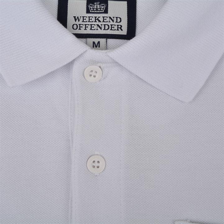 Поло Weekend Offender Rodchenko White