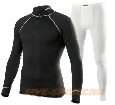 Комплект Термобелья Craft Active мужской Black/White