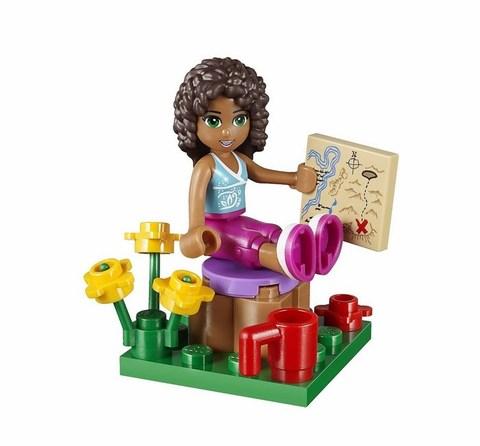 LEGO Friends: Домик Андреа в горах 41031