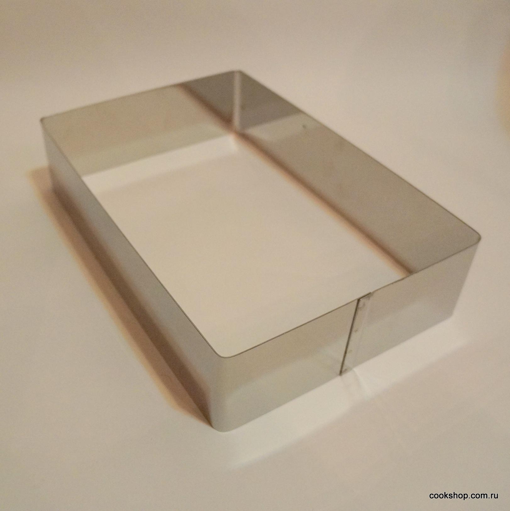 Форма металлическая Прямоугольник, 200*300*70мм