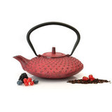 Чайник заварочный 800 мл красный Studio, артикул 1107053, производитель - BergHOFF