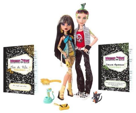 Monster High Cleo De Nile & Deuce Gorgon Doll Set