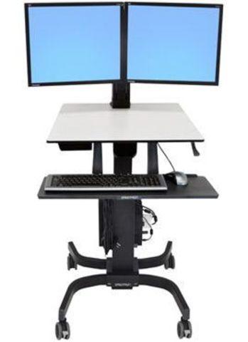 Мобильное рабочее место для двух мониторов Ergotron WorkFit C (24-214-085)