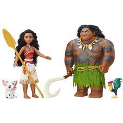 Игровой набор Мауи (Maui) и Моана (Moana) - Moana, Hasbro