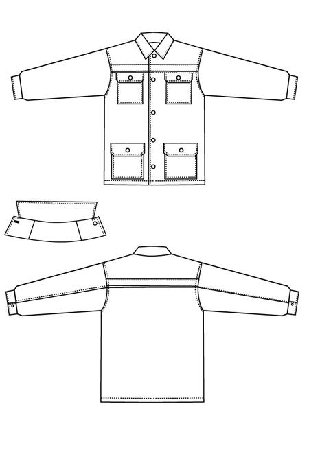 Труженик куртка