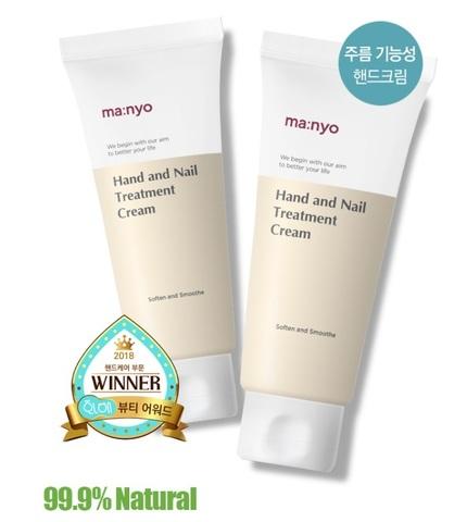 Лечебный крем для рук и ногтей, 60 мл / Manyo Factory Hand And Nail Treatment Cream