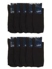 1c171 носки мужские, черные (10шт)