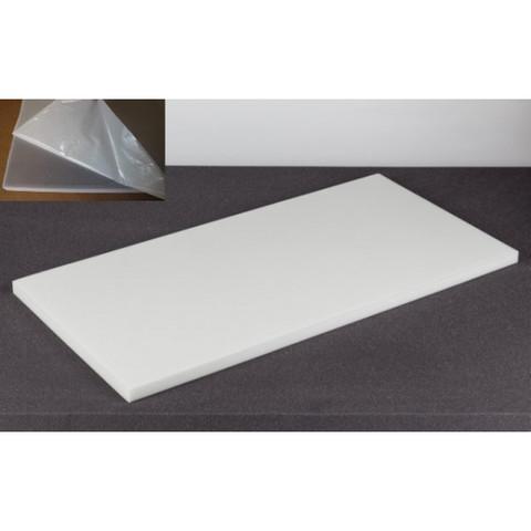 негорючая  акустическая панель ECHOTON FIREPROOF 100x50x3cm  из материала  BASOTECT белый с адгезивным слоем
