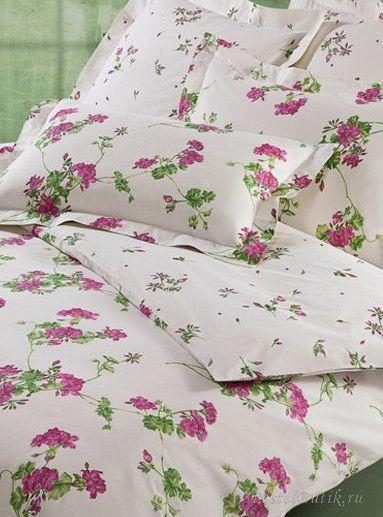 Постельное Постельное белье 1.5 спальное Mirabello Gerani розовое elitnoe-postelnoe-belie-gerani-mirabello-new-3.jpg