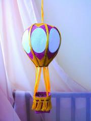 Воздушный шар (для игр и ночник)