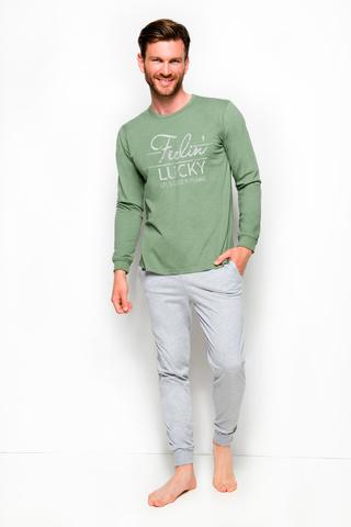 Мужская пижама 8W Kamil 2254 Green Taro
