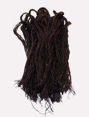Джут крашенный - тм. коричневый, 400 грамм