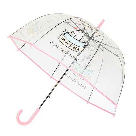 Зонт-трость Unicorn Pink