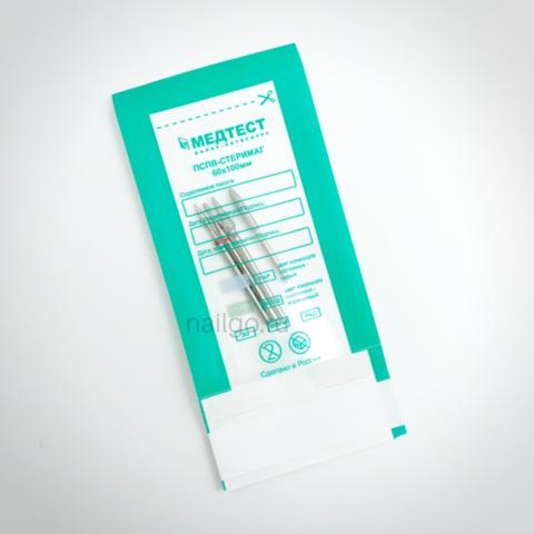 Прозрачные пакеты для СУХОЖАРА ПСПВ-СтериМаг 60х100 (100 шт.)