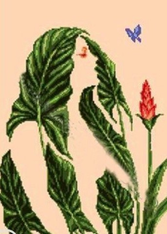 G-896 Иллюзия листьев