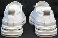 Молодежные женские кроссовки туфли полуспортивные El Passo sy9002-2 Sport White.
