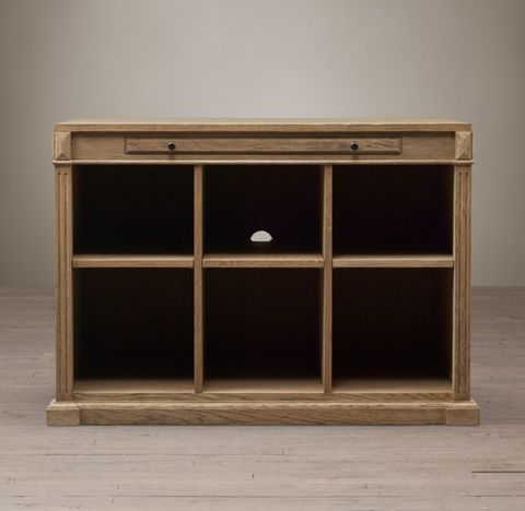 Library Modular 6-Cubby Open Cabinet