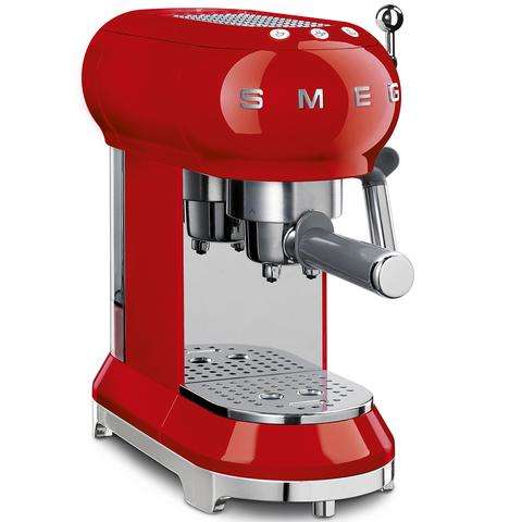 Кофеварка-эспрессо Smeg ECF01RDEU