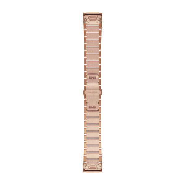 Стальной браслет Garmin QuickFit 20 мм розовое золото