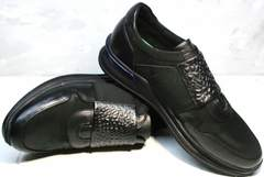 Модные кроссовки мужские Luciano Bellini 1087 All Black