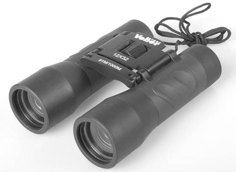 Бинокль Veber Sport БН 12х32, черный